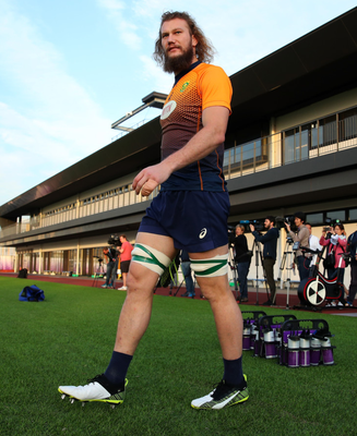 Munster's RG Snyman, a South African international