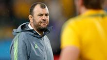 OUT OF HERE: Michael Cheika. Pic: AP