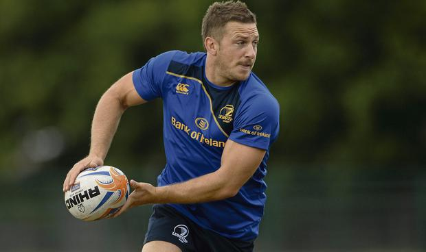 Leinster's Jimmy Gopperth during pre-season squad training. Picture: David Maher/Sportsfile