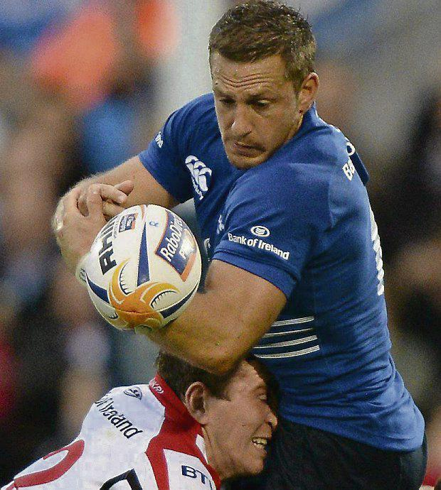 SUPPORT: Out-half Jimmy Gopperth has the backing of Leinster boss Matt O'Connor.