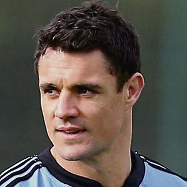 New Zealand's Dan Carter. Picture credit: Steve Parsons/PA Wire.