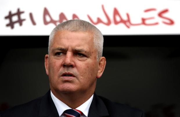 Warren Gatland. Picture: David Jones/GETTY IMAGES