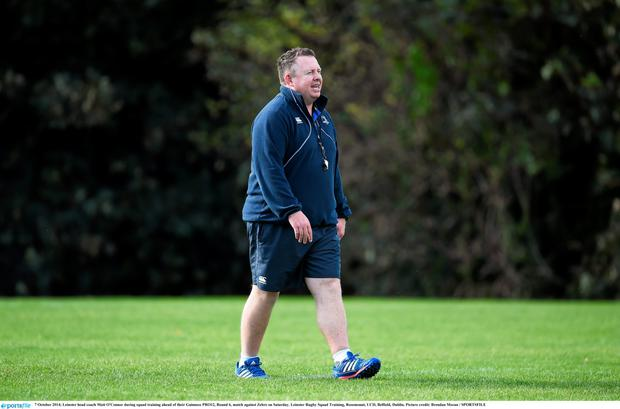 Leinster coach Matt O'Connor