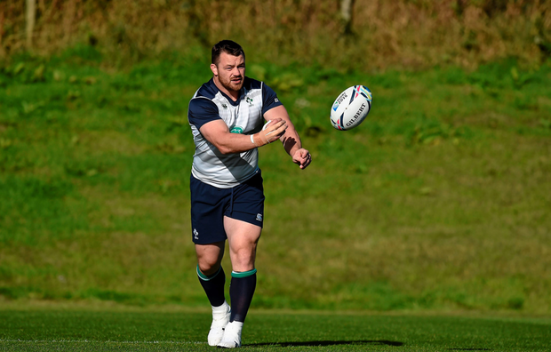 Cian Healy will start for Ireland for the first time since playing for 53 minutes against Scotland back in March as one of twelve changes