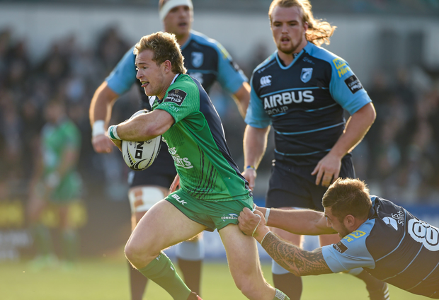 Connacht's Kieran Marmion.