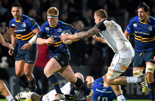James Tracy is one of the exciting young players making the breakthrough at Leinster.