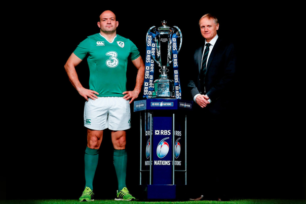 Joe Schmidt has declared Jonathan Sexton fully fit for the Six Nations: SPORTSFILE