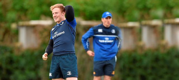 Leinster's James Tracy switched from prop to hooker thanks to Joe Schmidt's advice. Photo: Sportsfile