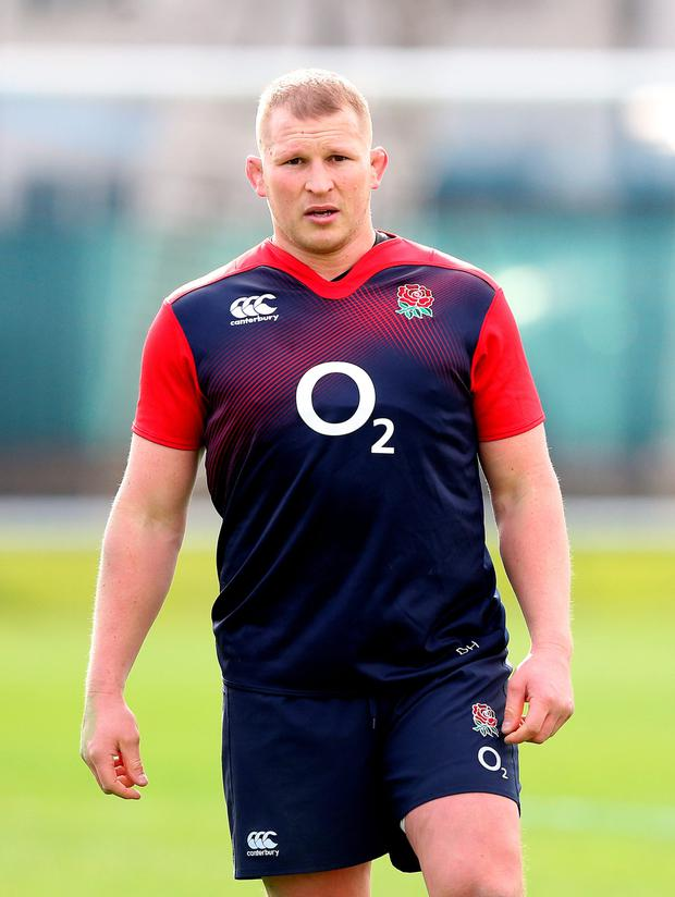 The English are one-dimensional without their set-piece go-forward : Dylan Hartley / PA Wire