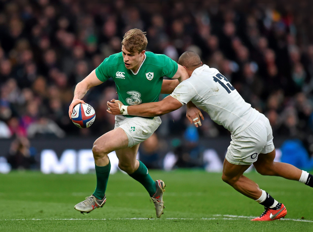 Ireland's Andrew Trimble