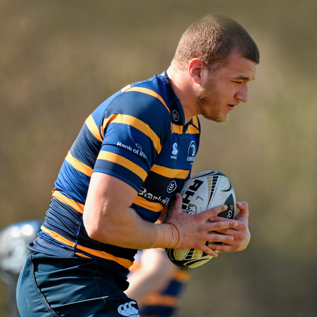 Leinster's Ross Molony in action during squad training.