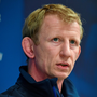 Head coach Leo Cullen during a press conference ahead of their PRO12 game against Edinburgh tonight Photo: Sportsfile