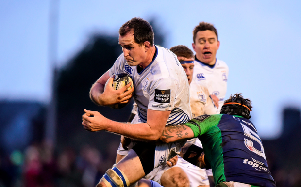 Blues lock Devin Toner Photo: Sportsfile