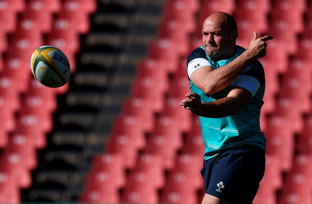 Ireland captain Rory Best is set to earn his 96th international cap against South Africa today.