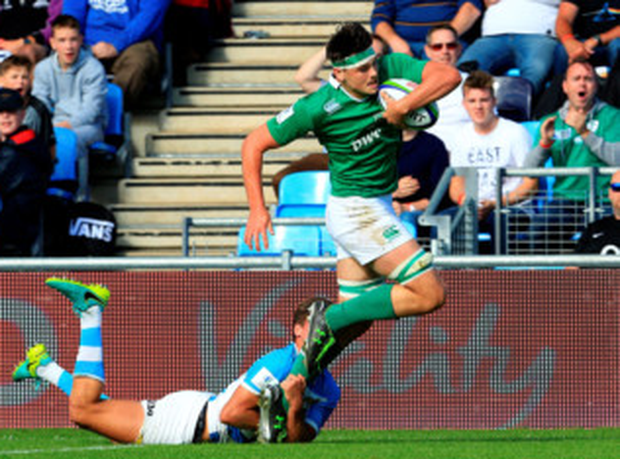 Ireland U20 Max Deegan. Photo: Matt McNulty/Sportsfile
