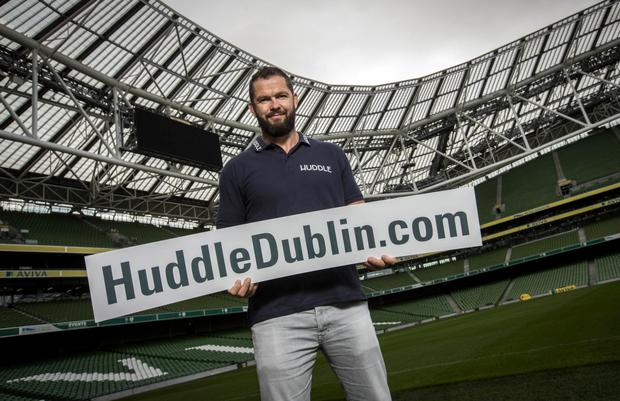 Andy Farrell Picture: INPHO/Billy Stickland