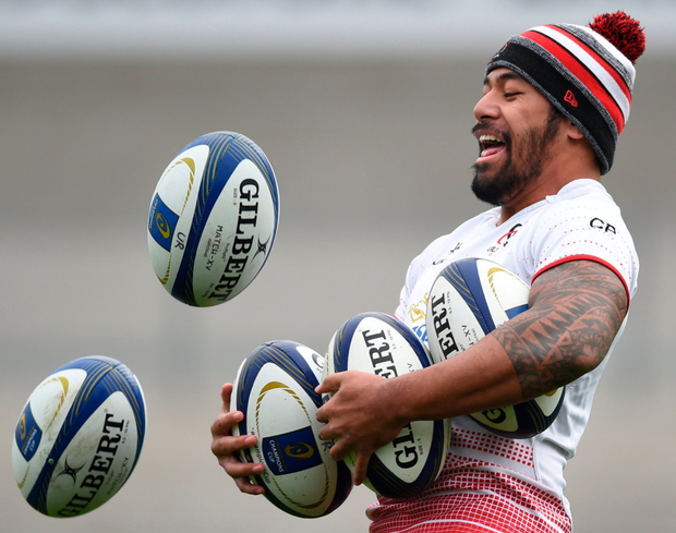 Exeter will have their hands full with Charles Piutau