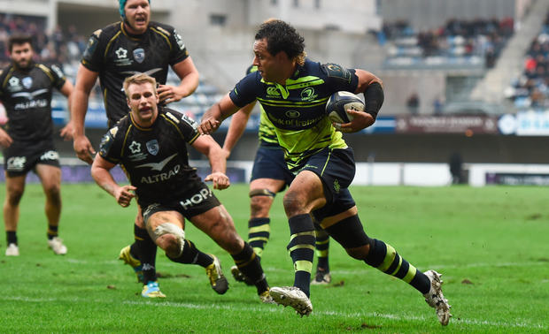 Isa Nacewa scores his side's try Picture: Sportsfile