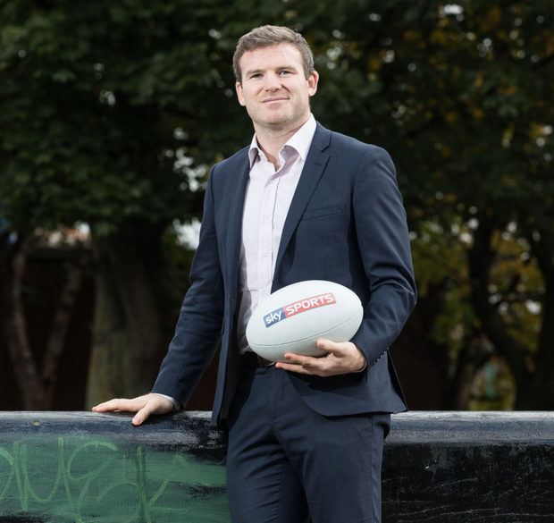 Former Ireland and Leinster centre Gordon D'Arcy. Pic: Inpho/Dan Sheridan