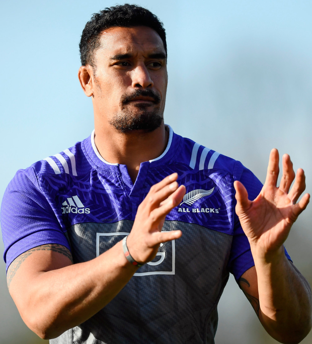 New Zealand forward Jerome Kaino