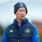 Leinster's head coach Leo Cullen