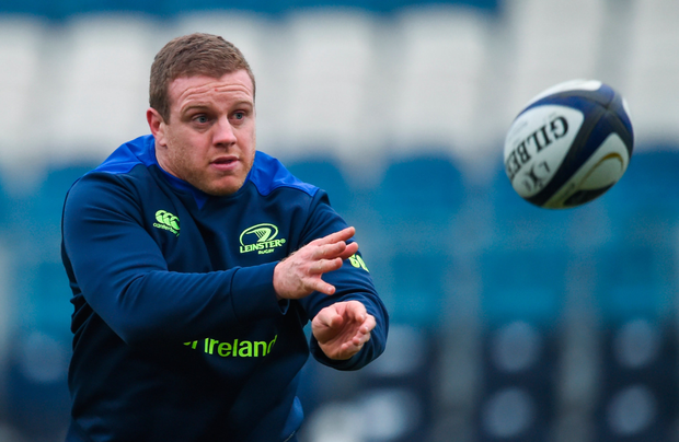 Sean Cronin of Leinster squad training. Pic: Sportsdile