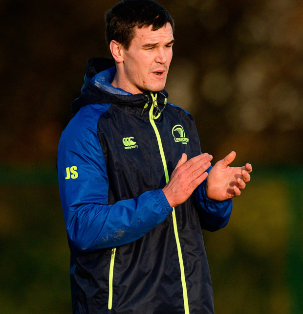 Jonathan Sexton at Leinster squad training in Belfield