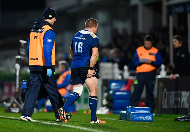 Sean Cronin leaves the pitch at the RDS last Friday. Pic: Sportsfile