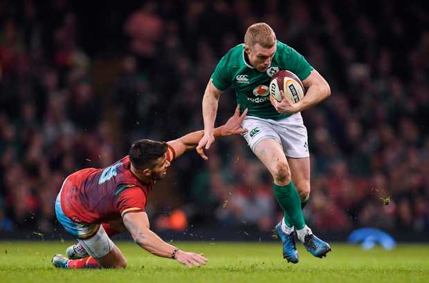 Keith Earls. Pic: Sportsfile