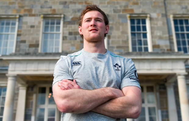 Ireland scrum-half Kieran Marmion following a press conference at Carton House in Maynooth. Pics: Sportsfile
