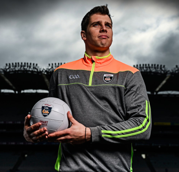 Kellogg's GAA Cúl Camps ambassador, Mayo footballer Lee Keegan, at the launch in Croke Park of the Kellogg's GAA Cúl Camps 2017