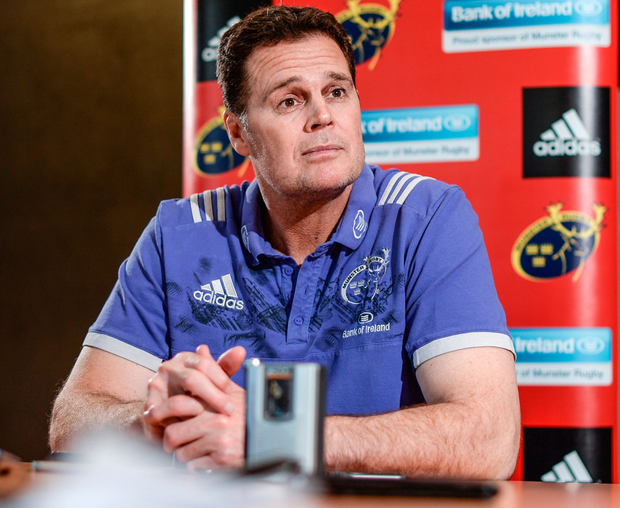 Munster boss Rassie Erasmus. Photo: Sportsfile