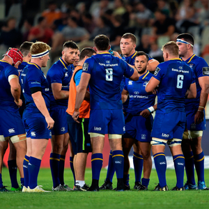 Leinster players during the Guinness PRO14 match against the Cheetahs in Bloemfontein. Photo: Sportsfile