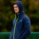Jonathan Sexton during Leinster training at Belfield. Pic: Sportsfile.