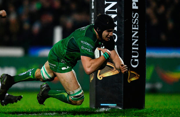 Connacht's Ultan Dillane. Photo: Sportsfile