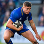 POCKET ROCKET: Leinster's James Lowe says you never know what you're going to get from Jordan Larmour (pictured)