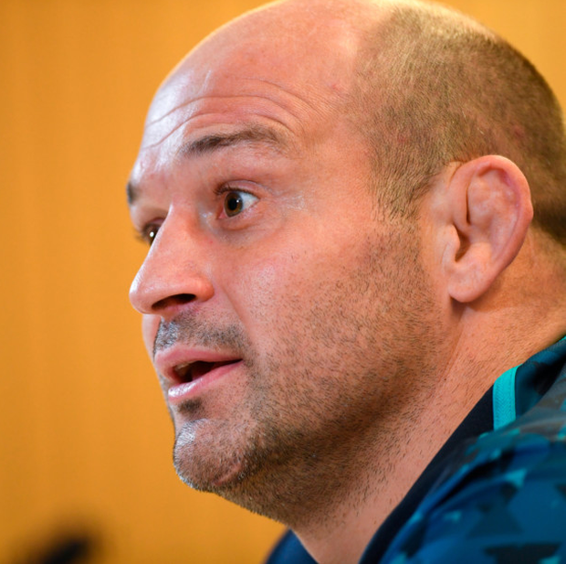 WARY: Ireland captain Rory Best is concerned about Argentina's threat from deep