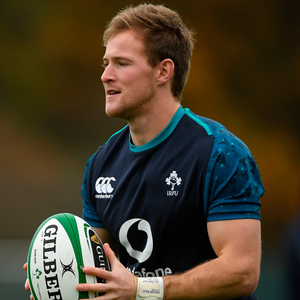 BIG SHOES TO FILL: Ireland's hopes could hinge on the performance of Kieran Marmion, who is replacing the injured Conor Murray