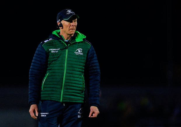 Connacht coach Andy Friend. Pic: Sportsfile