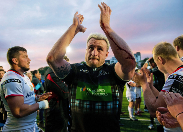 Stuart Hogg is playing his last game for Glasgow