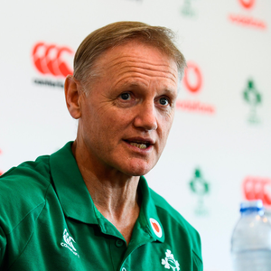 DECISIONS: Joe Schmidt. Photo: Ramsey Cardy/Sportsfile