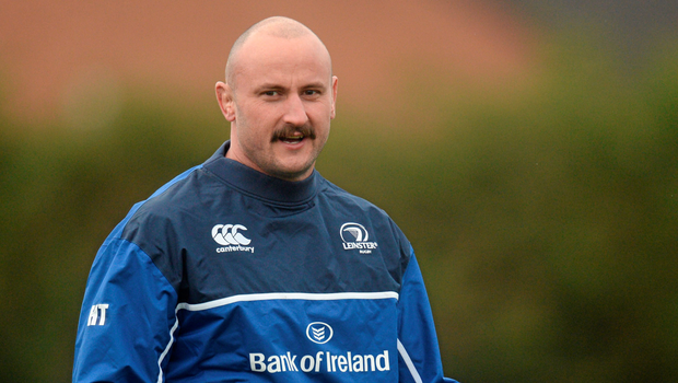 Hayden Triggs pictured at Leinster training yesterday