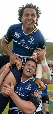 Leinster's Isa Nacewa. Picture: Stephen McCarthy / SPORTSFILE
