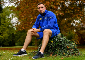 CRUNCH CLASH: Leinster's Jack Conan is looking forward to taking on Munster tomorrow in Limerick. Photo: SPORTSFILE