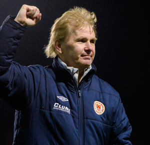 St Pat's manager Liam Buckley