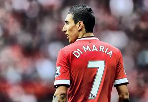 Manchester United v West Ham United - Premier League...MANCHESTER, ENGLAND - SEPTEMBER 27:  Angel di Maria of Manchester United in action during the Barclays Premier League match between Manchester United and West Ham United at Old Trafford on September 27, 2014 in Manchester, England.  (Photo by Laurence Griffiths/Getty Images)...S