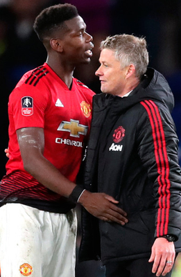 Ole Gunnar Solskjaer insists Paul Pogba is happy at Manchester United