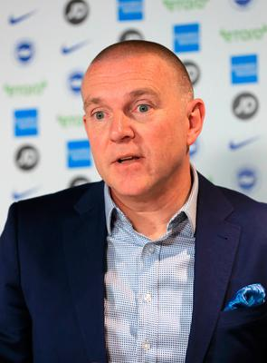 Opposition: Brighton CEO Paul Barber