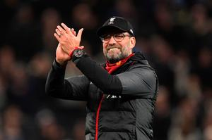 Liverpool manager Jurgen Klopp is on the verge of a title win.