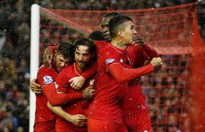 Toure believes fighting spirit like Joe Allen's late equaliser against Arsenal will help them ahead of Sunday's showdown with Manchester United (Reuters)